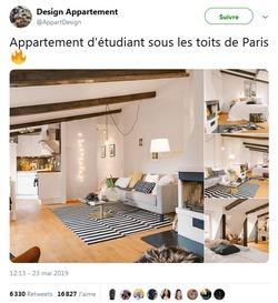 Prétendu Appart étudiant Sous Les Toits De Paris