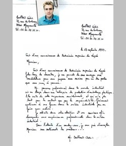 Lettre De Motivation Lettres De Motivation Le Parisien