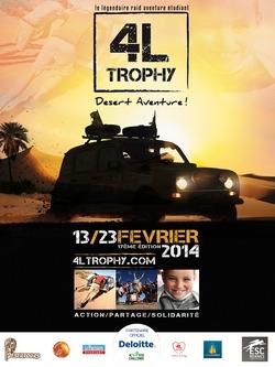 Départ du 4L Trophy 2014