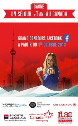 Grand Jeu Concours Gagnez Un Voyage D Un An Au Canada Etranger Formation Le Parisien Etudiant