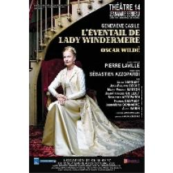 sortir theatre L'éventail de Lady Windermere