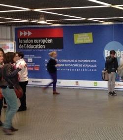 Le salon de l 39 education 2014 en photos les stands et for Salon europeen de l education porte de versailles