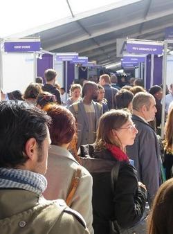 Salon paris pour l 39 emploi sur les pas des candidats for Salon pour l emploi
