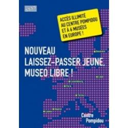 sortir expos Museo Libre! European Museum Card The first European Laissez-passer for the students under the age of 26.