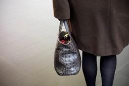 Elle retrouve son sac à main intact, volé il y a 14 ans