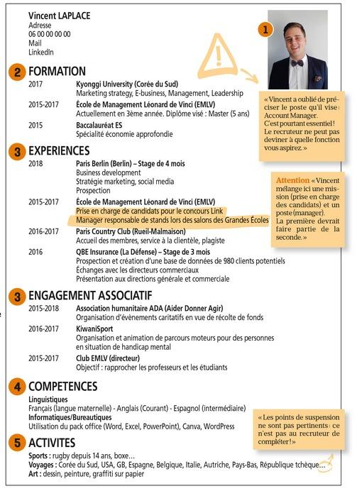 candidature de stage ou alternance   boostez votre cv
