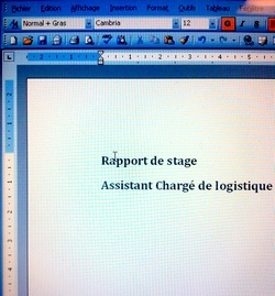 Rapport De Stage Conseils De Redaction Rapport De Stage Le