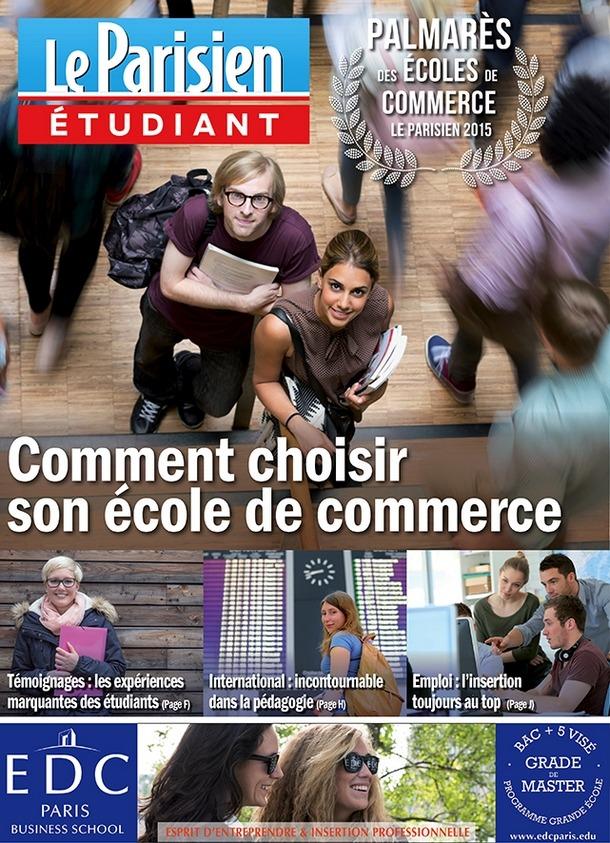 7e dition du palmar s des ecoles de commerce du parisien etudiant classement coles ecoles. Black Bedroom Furniture Sets. Home Design Ideas