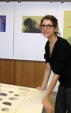 Journées Portes ouvertes à l'école nationale des arts décoratifs. Lauranne, 22 ans, est en deuxième année d'architecture d'intérieur