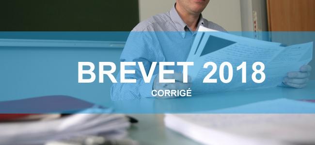 Brevet 2018 : le corrigé de l'épreuve de sciences (SVT et