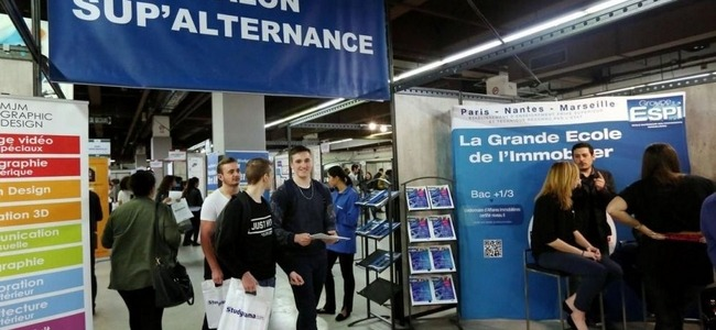 Inscriptions les salons pour aider les tudiants for Salon de l alternance paris