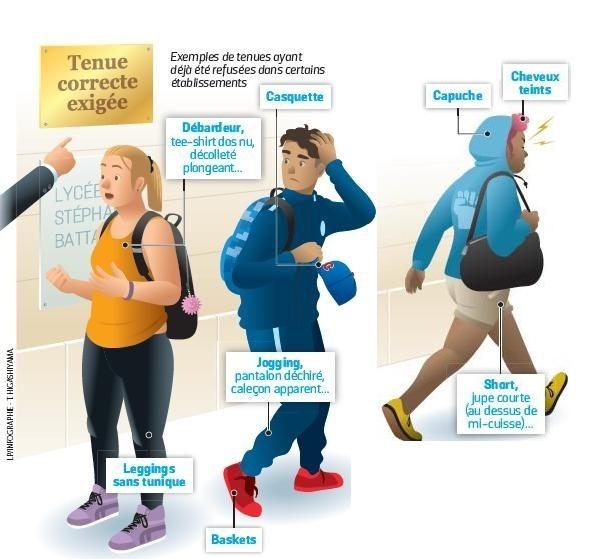 jogging interdit au lyc u00e9e   les explications et ce que dit
