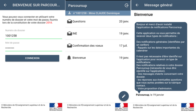 parcoursup   l u0026 39 application mobile qui vous permet d u0026 39  u00eatre
