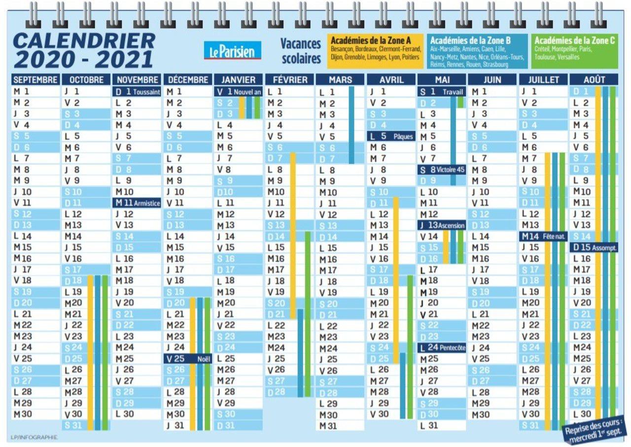 Dates de la rentrée 2020 et des vacances   Pratique   Le Parisien