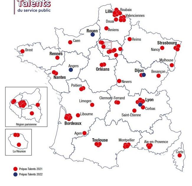 """""""Prépas Talents"""" : de nouvelles classes pour plus de diversité dans le service public (Le Parisien)"""