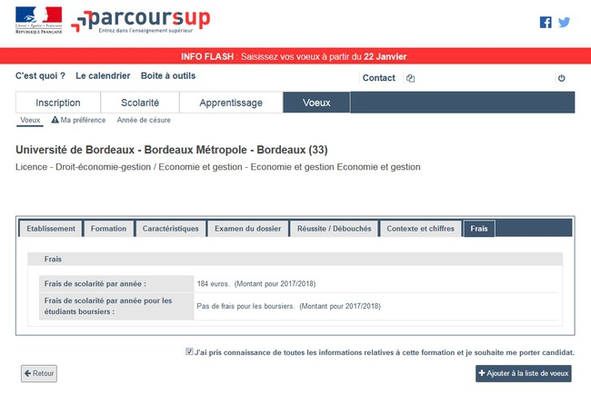 calendrier parcoursup   inscription  dates et  u00e9tapes  u00e0