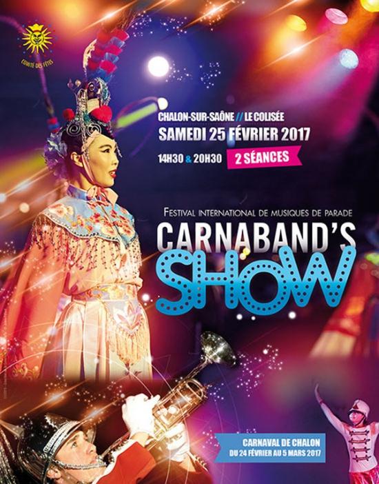 Carnaband show 2017 14h30 salle du colisee chalon sur - Chambre du commerce chalon sur saone ...
