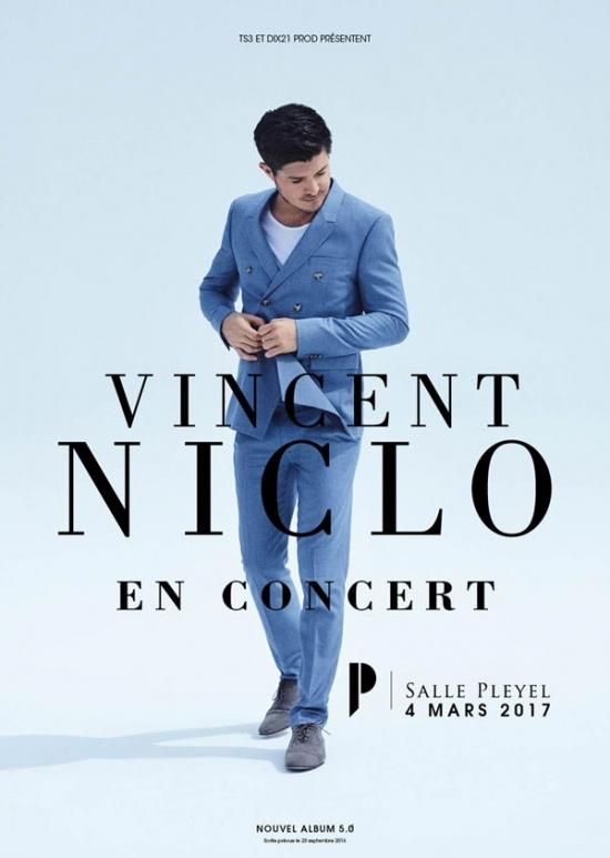 Flyer Vincent Niclo Salle Pleyel France Samedi 4 Mars 2017