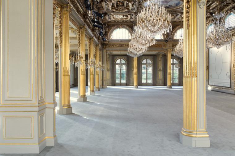 Intérieur du palais de l'élysée lors des journees du patrimoine