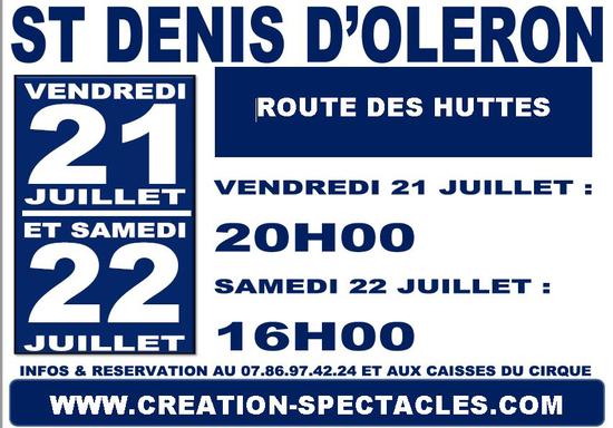 Le cirque la piste d 39 or saint denis d 39 ol ron chapiteau des mervei - Se loger saint denis ...