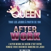 affiche AFTERWORK PARADISE @ QUEEN CLUB PARIS