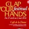 affiche FESTIVAL CLAP YOUR HANDS #6 2016