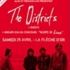 affiche THE DISTRICTS + GUESTS