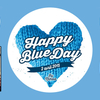 affiche  HAPPY BLUE DAY // BY NINOO // PARIS