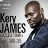 affiche KERY JAMES - A.C.E.KS TOUR