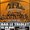 affiche Concert des groupes ELECTRIC GODFATHER et MUEZLI