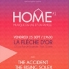 affiche HOME#1 - THE ACCIDENT / - THE RISING SOLEX/ LLOYD PROJECT