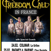 affiche FREEDOM CALL+CRYSTAL BALL+SYR DARIA