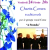 affiche Chants Corses traditionnels