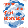 affiche Grand Salon d'Art Abordable à La Bellevilloise 20ème édition