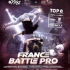 affiche COUPE DE FRANCE BATTLE PRO