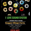 affiche Reggae Village Party
