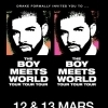 affiche DRAKE - The Boy Meets World Tour