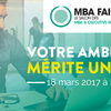 affiche Salon MBA Fair