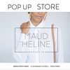 affiche Pop Up Store MAUD HELINE