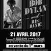 affiche Bob Dylan and his band