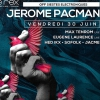 affiche OFF SIESTES ELECTRONIQUES 2017 - JEROME PACMAN & GUESTS LIVE ACT