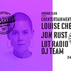 affiche Indoor Club : Louise Chen, Jon Rust, Lot Radio DJ Team