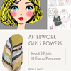 affiche AFTERWORK GIRLS POWERS