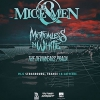 affiche OF MICE & MEN + MOTIONLESS IN WHITE + THE DEVIL WEARS PRADA