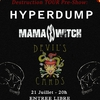 affiche Hyperdump + MamaWitch + Devil's Cards