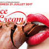 affiche Ice cream party