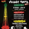 affiche ANTHONY B, ROOTS CONNECTION, CARLOS DE NICARAGUA @ VILLAGE RASTA - Cabaret Sauvage