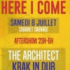 affiche AFTERSHOW:THE ARCHITECT,KRAK IN DUB - KOGNITIF ET REID HOPE KING