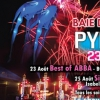 affiche SUPER TROOPER FOR ABBA - PYROCONCERTS 2017