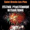 affiche Festival Pyrotechnique International St Brevin